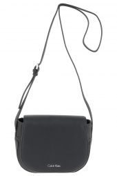 sac a main calvin klein k60k602332 min4 saddle bag noir