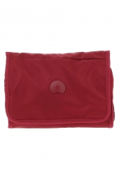 trousse de toilette delsey 2247150-tuileries -pliable rouge