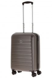 valise trolley delsey 2038803/55 slim segur-poycarb marron