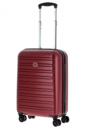 valise trolley delsey 2038803/55 slim segur-poycarb rouge