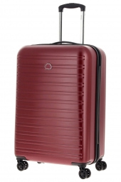 valise trolley delsey 2038820/70 segur-polycarb rouge