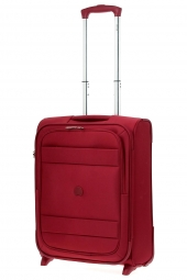 valise trolley delsey 3035723/55 2r-indiscrete rouge