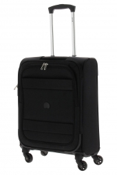 valise trolley delsey 3035803/55 4r-indiscrete soft noir