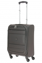 valise trolley delsey 3035803/55 4r-indiscrete soft marron