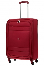 valise trolley delsey 3035810/69 ext-indiscrete soft rouge