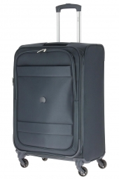 valise trolley delsey 3035810/69 ext-indiscrete soft bleu