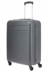 valise trolley delsey 3445810/66 carlit -abs argent