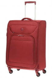 valise trolley delsey 3573811/68 ext-lazare rouge