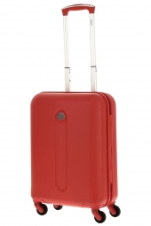 valise trolley delsey 3800801/55 slim-helium classic rouge