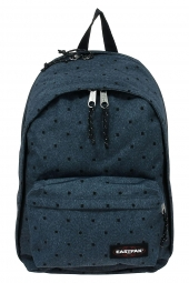 sac a dos ordinateur eastpak back to work ek936 bleu