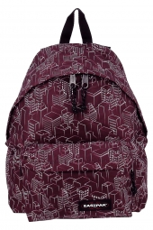 sac a dos eastpak padded pak'r ek620 bordeaux