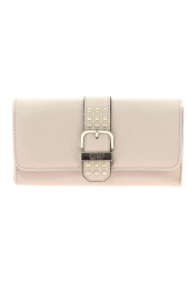 compagnon guess eileen slg pocket trifold blanc