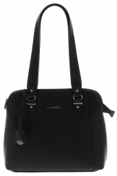 sac hexagona 764907-3 zip noir