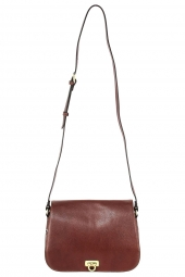 sac a main hexagona 111806-collet republique marron