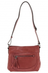 sac a main hexagona 414699 rouge