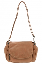 sac a main hexagona 414776 marron