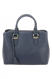 sac a main hexagona 645276 safiano bleu