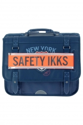 cartable pour garcon ikks scolaire nyc i5nyc-ca38 bleu