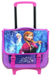 cartable trolley la reine des neiges 118601-38cm violet