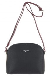 sac a main lancaster 421-58 adele made in france noir