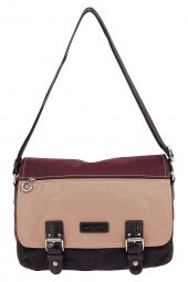 sac a main lancaster 504-30 basic & sport bordeaux