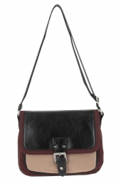 sac a main lancaster 504-81 basic & sport bordeaux