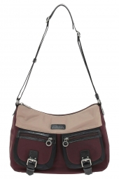 sac a main lancaster 504-90-basic & sport bordeaux
