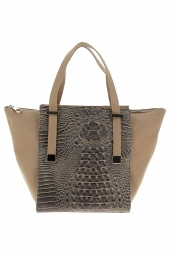 sac a main les petites bombes w159306-croco/strie taupe