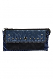 compagnon lollipops 23517-bibi large wallet bleu
