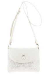 sac lollipops 20780-taquin small shoulder blanc