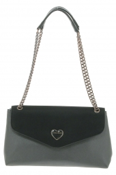 sac lollipops 22568-heart clutch noir