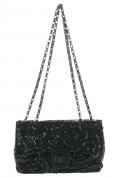 sac lollipops 23043-amour chain shoulder noir