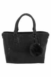 sac a main lollipops 23033-alume handbag noir