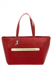 sac a main lollipops 23362-bcity shopper rouge