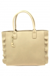 sac a main lollipops 23388-bflounce shopper beige