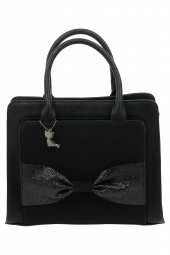 sac a main lollipops 23394-boukat shopper noir