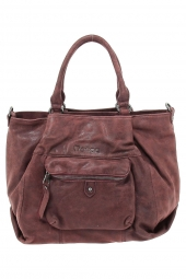 sac a main moca by arthur&aston m1-08 faux bas volet bordeaux