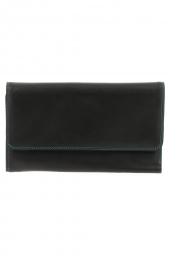 compagnon avec emplacement chequier mywalit 319-cheque book holder/wallet noir