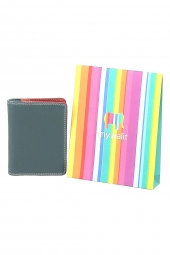porte-cartes de credit mywalit 131-credit card holder w/plast gris