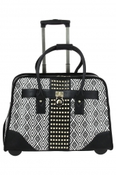 porte-document trolley olivia lauren tiffany noir