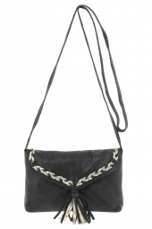 sac pieces 17076421 pcpofo leather cross noir