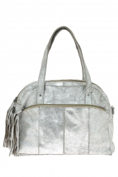 sac a main pieces 17057977 pcmylisia leather bag argent