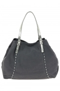 sac a main pieces 17068960 pcsiri canvas bag gris