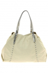 sac a main pieces 17068960 pcsiri canvas bag beige