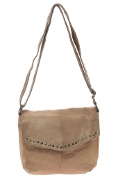sac a main pieces 17079826 pcvanity-cuir souple beige