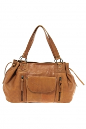 sac a main pieces 17083791 pcjihano leather marron