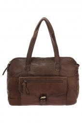 sac a main pieces 17085467 pcabby leather bag marron