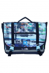 cartable rip curl bbpiu4 ocean glitch cartable bleu