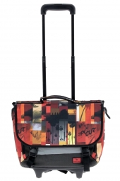 cartable trolley rip curl bbpfi4 photo vibes wh.cartable rouge