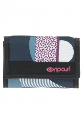 portefeuille rip curl lwufh4 paola wallet bleu